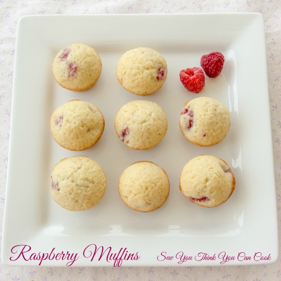 raspberry muffins   sew you think you can cook