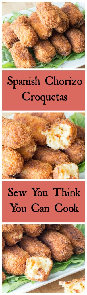 Spanish Chorizo Croquetas | Sew You Think You Can Cook
