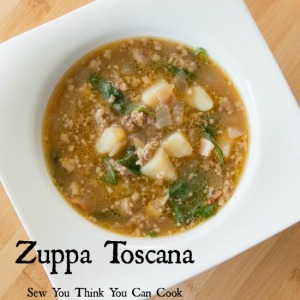 Zuppa Toscana | Sew You Think You Can Cook