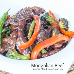 Mongolian Beef | Sew You Think You Can Cook