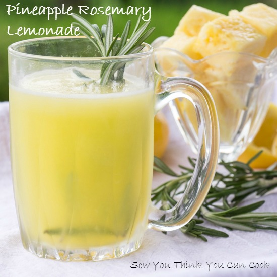 CIC: Pineapple and Rosemary | Sew You Think You Can Cook