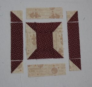 box-in-a-box quilt block tutorial 2