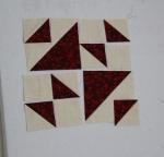 School Girl's Puzzle quilt block tutorial