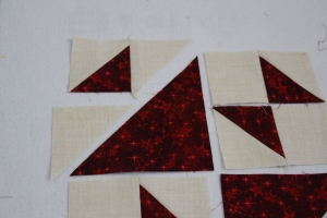 School Girl's Puzzle quilt block tutorial