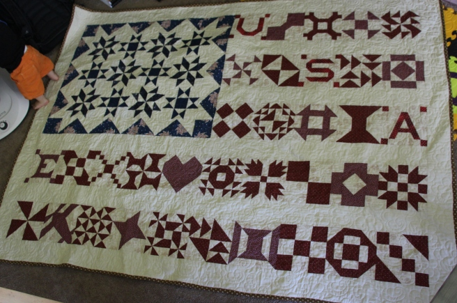 American Flag Sampler Quilt | Sew You Think You Can Cook