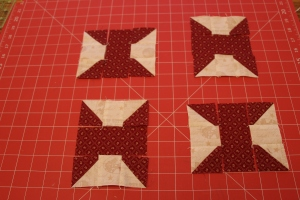bow tie quilt block tutorial | sew you think you can cook
