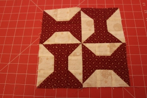 bow tie quilt block tutorial