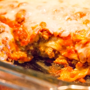 Lasagna - Sew You Think You Can Cook