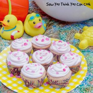 Pink Lemonade Cupcakes | Sew You Think You Can Cook