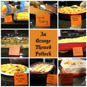 12 Recipes for an Orange Themed Potluck | Sew You Think You Can Cook