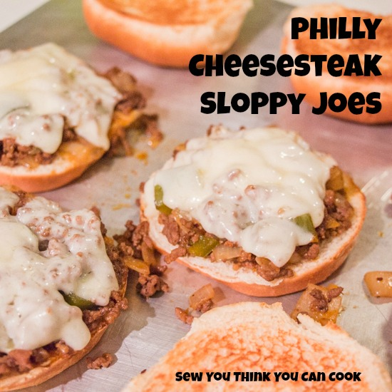 Philly Cheesesteak Sloppy Joes | Sew You Think You Can Cook