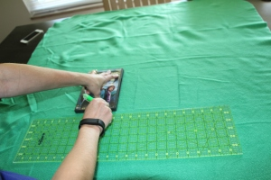 Shopping Cart Cover Tutorial (step 3a)| Sew You Think You Can Cook