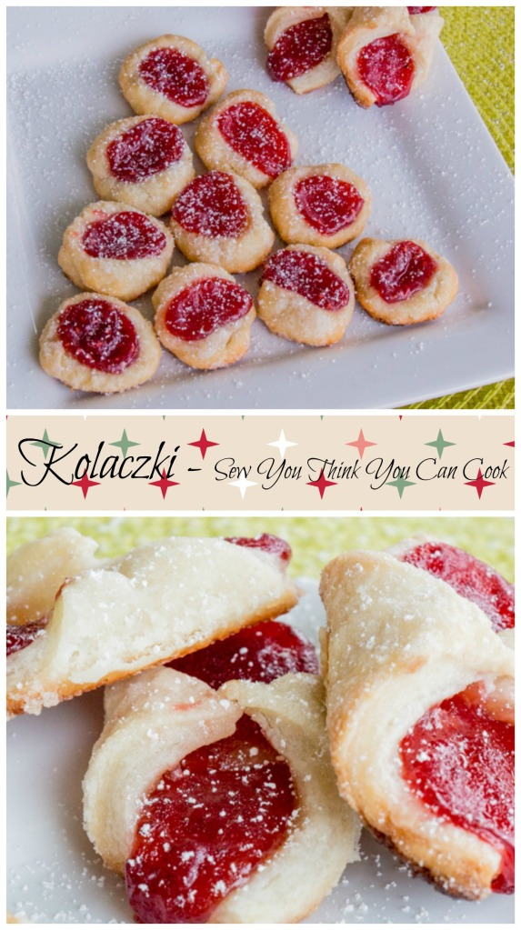 Kolaczki for #Cookielicious Exchange Party from Sew You Think You Can Cook #SundaySupper