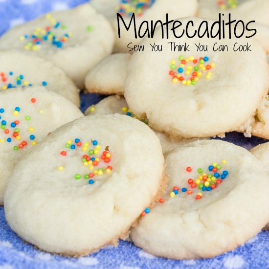 Mantecaditos for #IntlCookies from Sew You Think You Can Cook