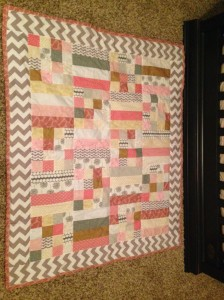 Scrappy Princess Quilt Tutorial  Sew You Think You Can Cook