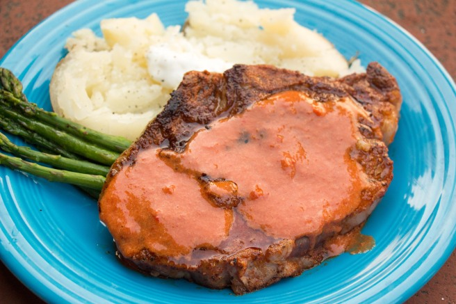 Spanish-Spice Rubbed Steak with Steak Sauce | Sew You Think You Can Cook