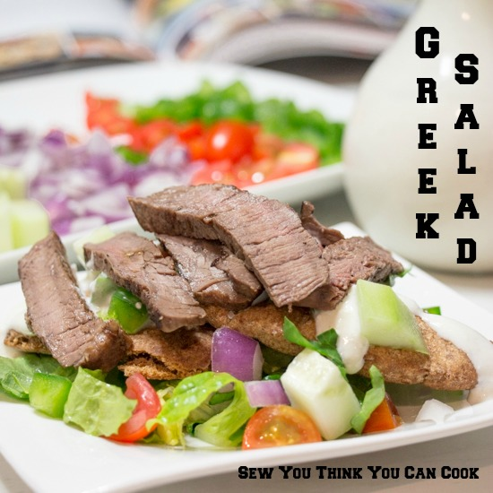 Greek Salad  Sew You Think You Can Cook