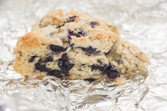 Blueberry Scones - Sew You Think You Can Cook