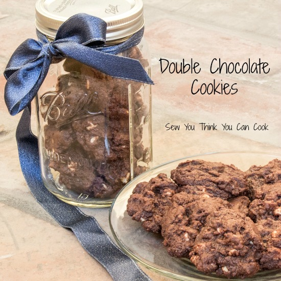 Double Chocolate Cookies for #SecretRecipeClub from Sew You Think You Can Cook (2)