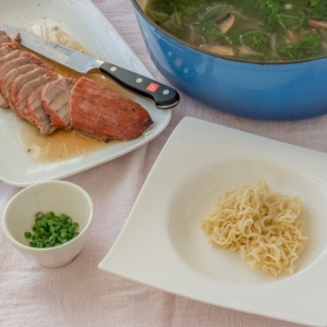 Pork Ramen (components)