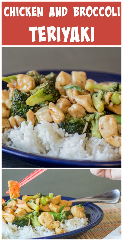 Chicken and Broccoli Teriyaki  Sew You Think You Can Cook