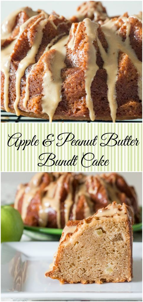 Apple & Peanut Butter Bundt Cake for #BundtBakers from Sew You Think You Can Cook (2)