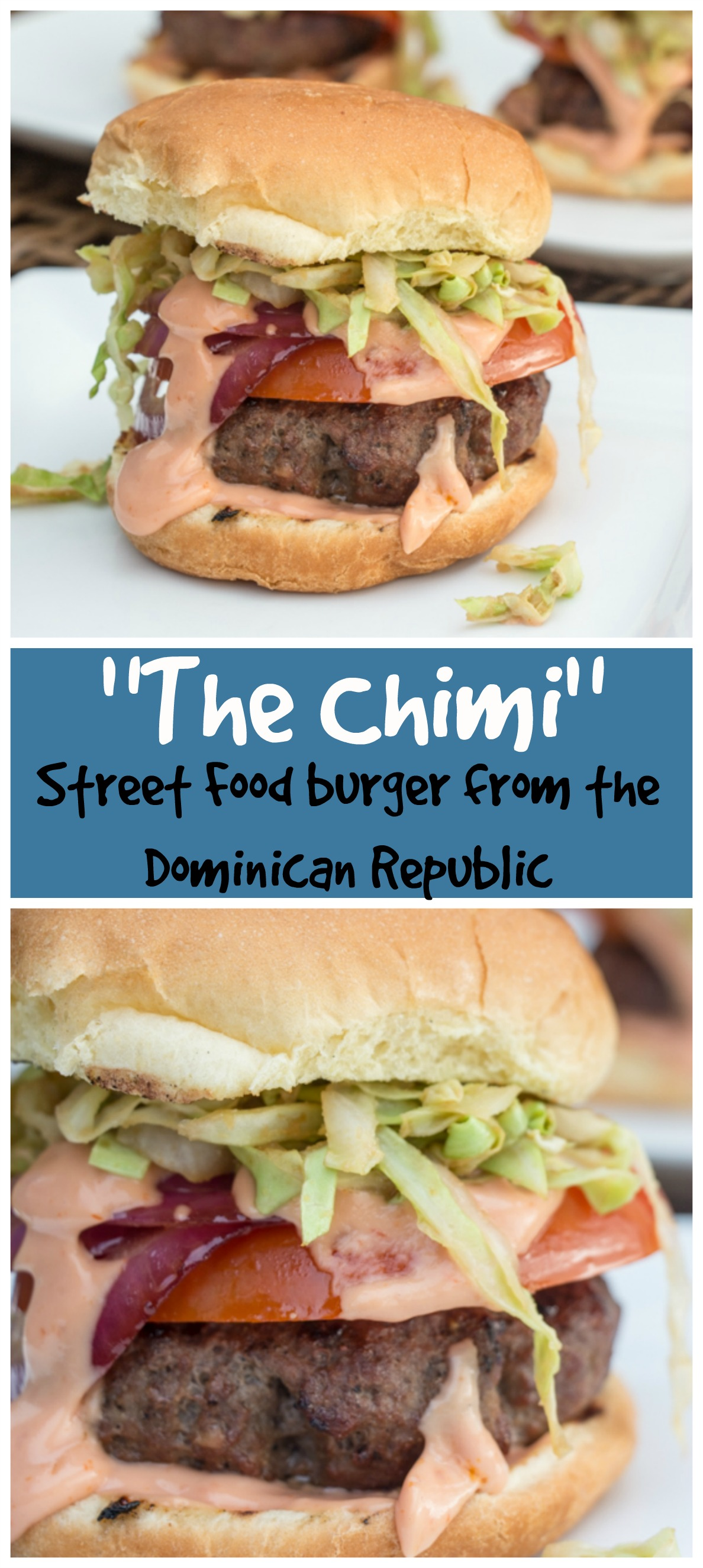 dominican chimichurri burgers sew you think you can cook