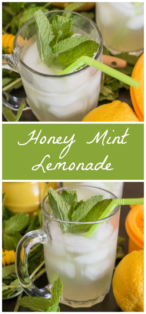 Honey Mint Lemonade for #FoodieExtravaganza from Sew You Think You Can Cook