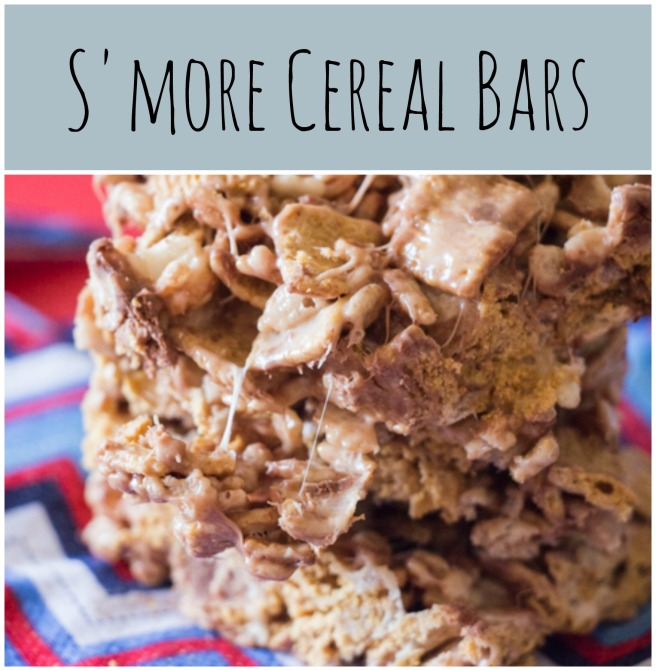 S'more Cereal Bars  Sew You Think You Can Cook