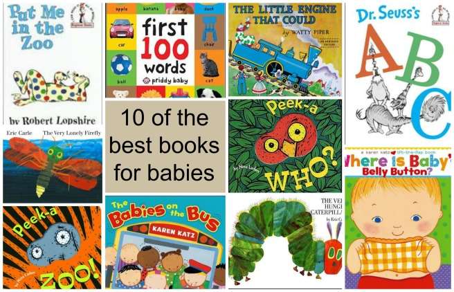 10 of the Best Books for Babies | Sew You Think You Can Cook | http://sewyouthinkyoucancook.com