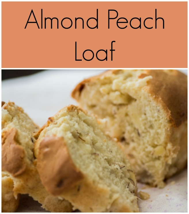 Almond Peach Loaf | Sew You Think You Can Cook | http://sewyouthinkyoucancook.com