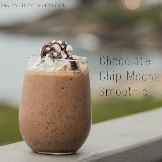 Chocolate Chip Mocha Smoothie for #SundaySupper from Sew You Think You Can Cook (2)
