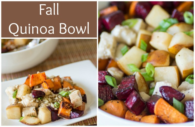 Fall Quinoa Bowl | Sew You Think You Can Cook | http://sewyouthinkyoucancook.com