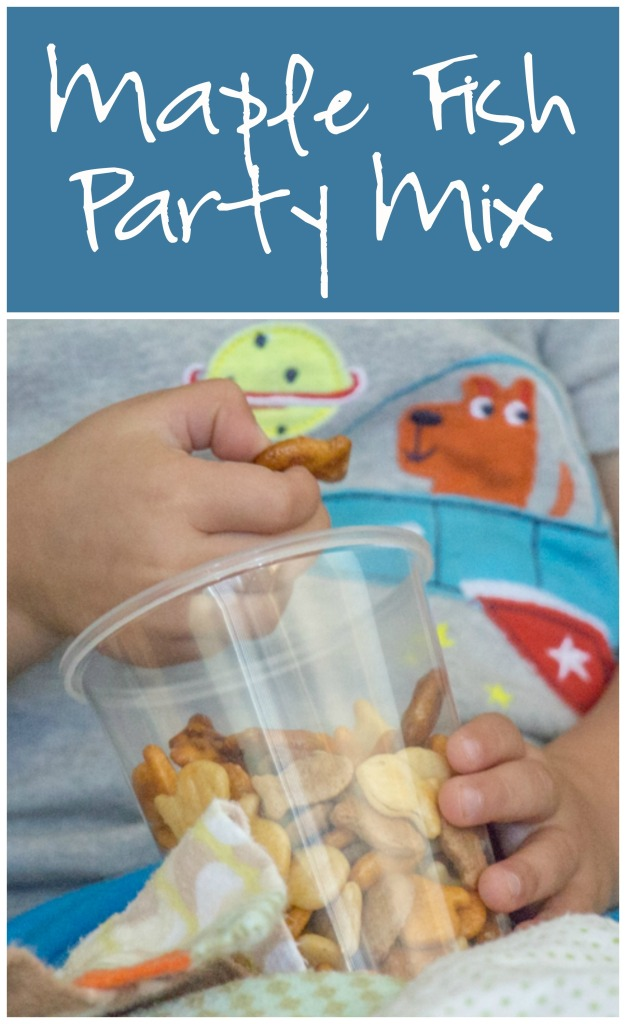 Maple Fish Party Mix for #SundaySupper from Sew You Think You Can Cook
