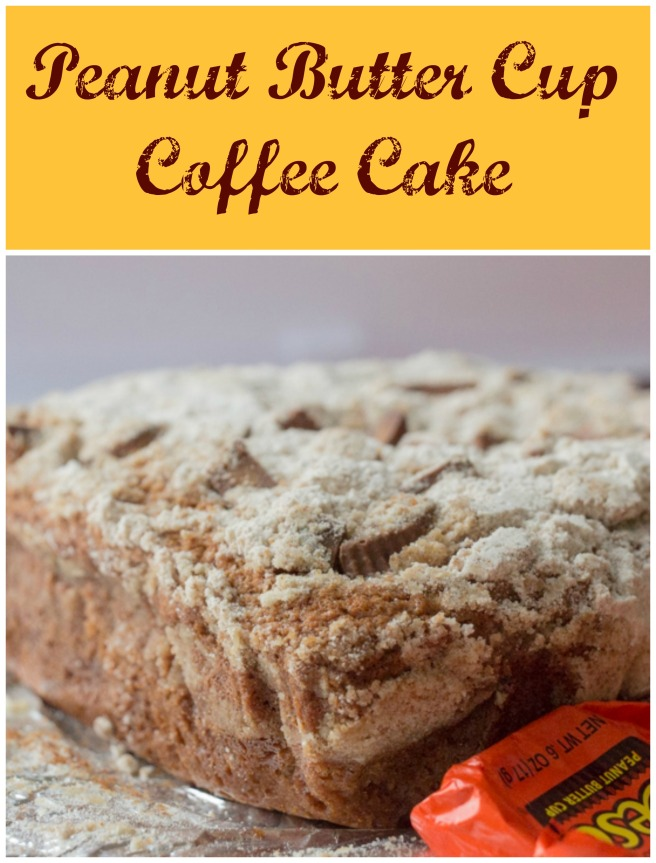 Peanut Butter Cup Coffee Cake for #SundaySupper from Sew You Think You Can Cook