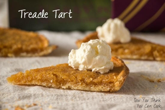 Treacle Tart | Sew You Think You Can Cook | http://sewyouthinkyoucancook.com (2)