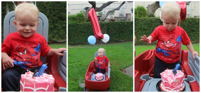 A Spider-Man themed 1st birthday | Sew You Think You Can Cook | http://sewyouthinkyoucancook.com
