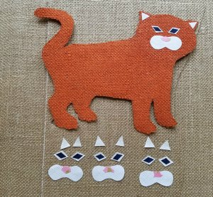 Burlap Tiger Craft | Sew You Think You Can Cook