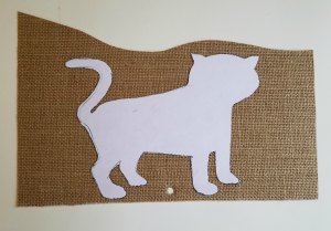 Burlap TIger Craft Tutorial | Sew You Think You Can Cook