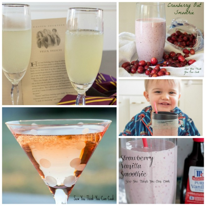 Best Beverages of 2016 | Sew You Think You Can Cook