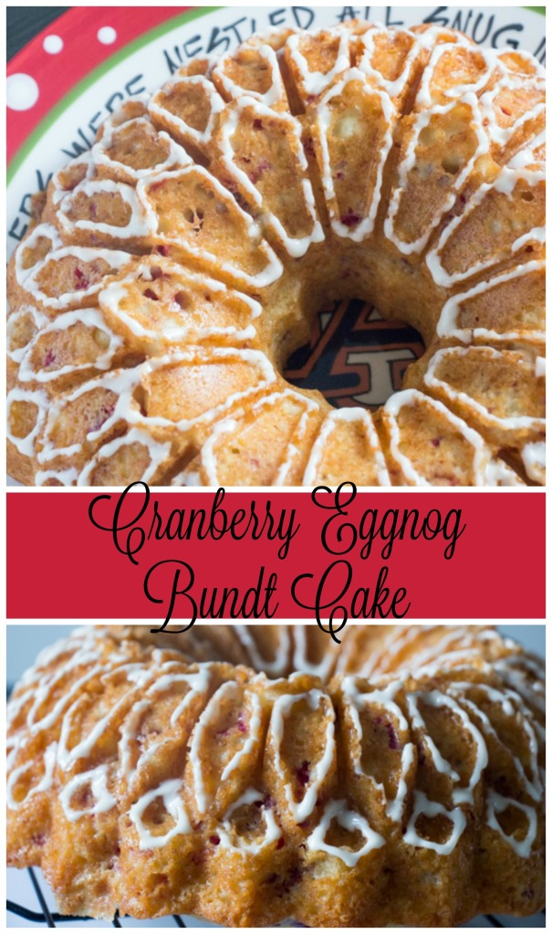 Cranberry Eggnog Bundt Cake for #BundtBakers from Sew You Think You Can Cook
