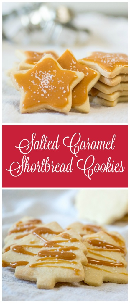 Salted Caramel Shortbread Cookies for #FantasticalFoodFight from Sew You Think You Can Cook