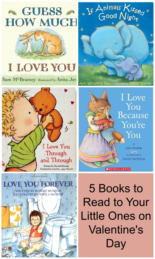 5 books for kids about Love | Sew You Think You Can Cook | http://sewyouthinkyoucancook.com