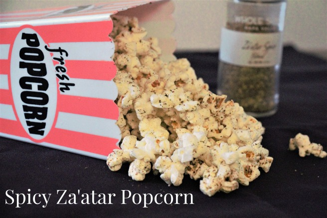 Spicy Za'atar Popcorn for #FoodieExtravaganza from Sew You Think You Can Cook