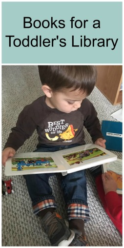 Books for a Toddler's Library
