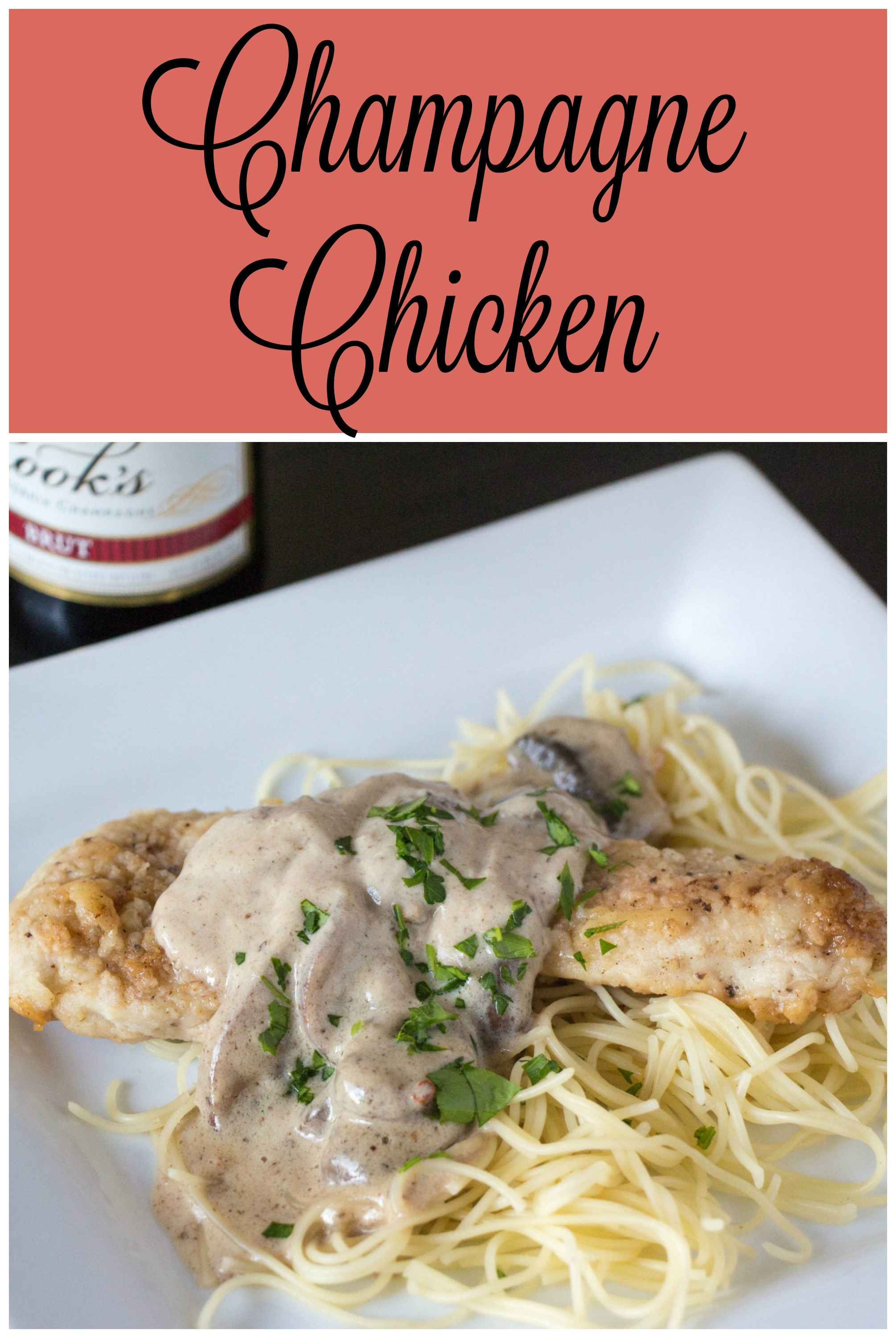 Champagne-Can Chicken