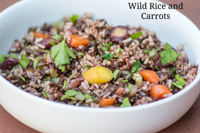 Wild Rice and Carrots from #TheMigraineReliefPlan from Sew You Think You Can Cook