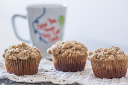 Coffee Cake Muffins | Sew You Think You Can Cook | http://sewyouthinkyoucancook.com