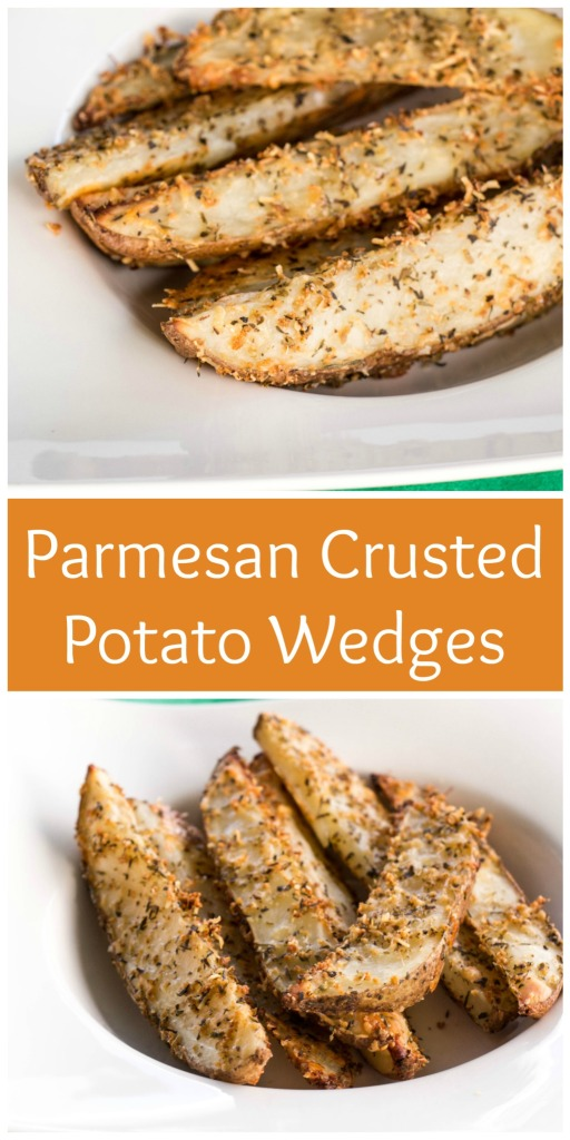 Parmesan Crusted Potato Wedges   Sew You Think You Can Cook