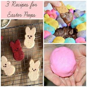 3 Recipes for Easter Peeps | Sew You Think You Can Cook